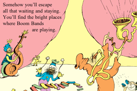 Dr Seuss The waiting place