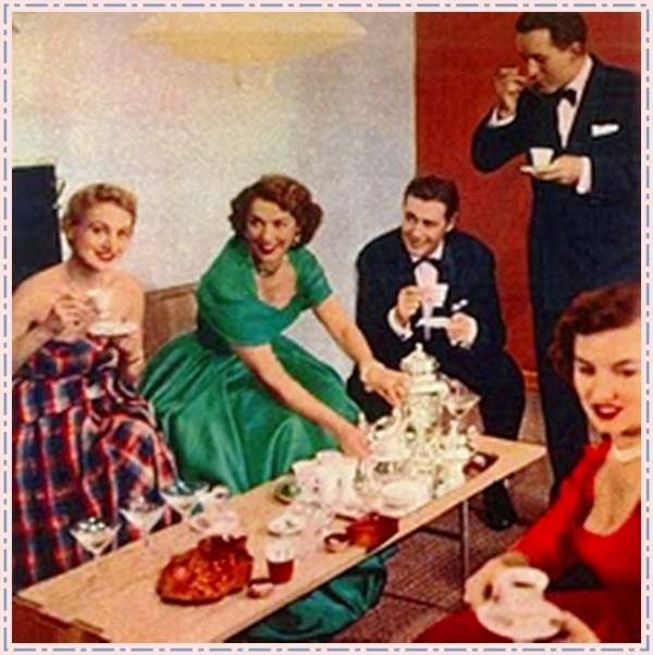 1940s guest entertaining